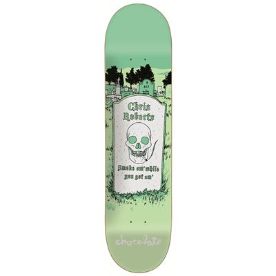 Chocolate Roberts Tombstone 8.0 Skateboard Deck