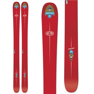 Surface Live Free Skis 2014