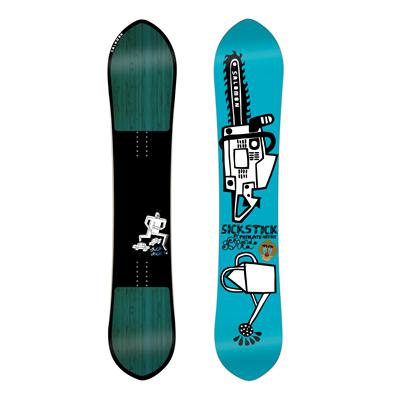 Salomon Sickstick Snowboard - Demo 2014