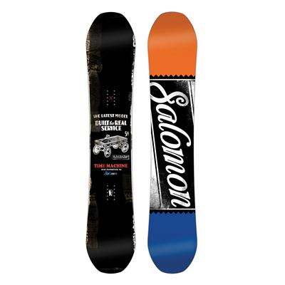 Salomon Time Machine Snowboard - Demo 2014