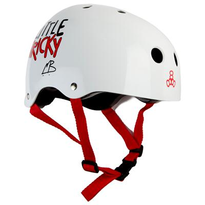 Triple 8 Brainsaver Little Tricky Jr. Skateboard Helmet - Kid's