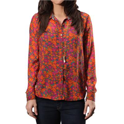 Volcom Not So Classic L/S Button Down Shirt - Women's