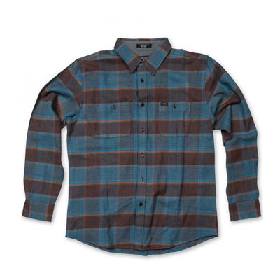 Matix Piller Button-Down Flannel Shirt