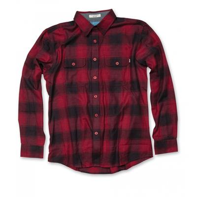 Matix Cheville Button-Down Flannel Shirt