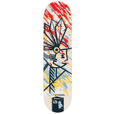 Alien Workshop Dyrdek Sketchbook 7.875 Skateboard Deck