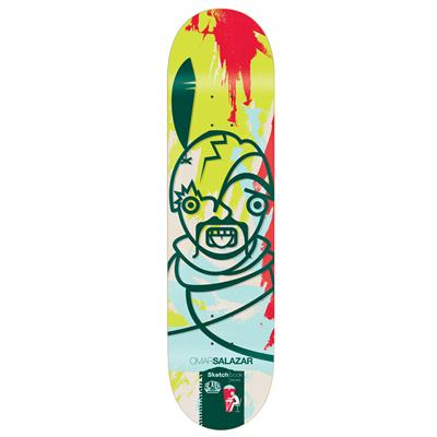 Alien Workshop Salazar Sketchbook 8.125 Skateboard Deck