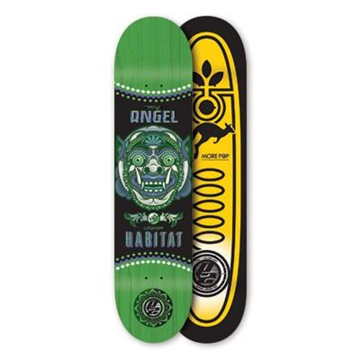 Habitat Angel Bali Mask Skateboard Deck