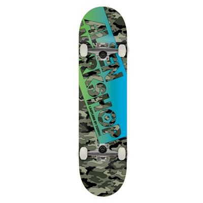 Alien Workshop Camo Filmworks Skateboard Complete
