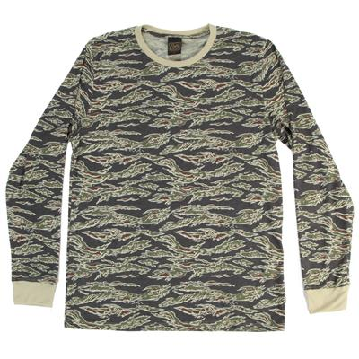 Obey Clothing Camo Long-Sleeve Top