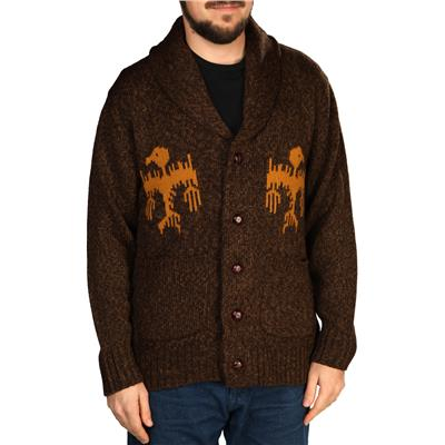 Obey Clothing Bird Cardigan