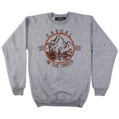 Casual Industrees In The Trees Crew Neck Fleece
