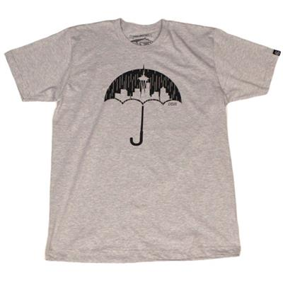 Casual Industrees Umbrella Rain Camo T-Shirt