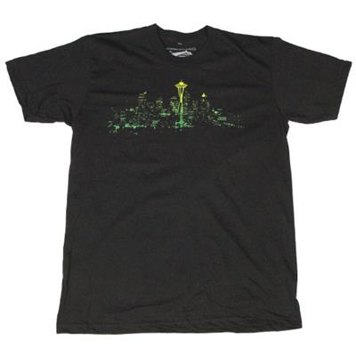 Casual Industrees Seattle Lights Fade T-Shirt