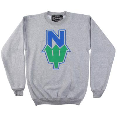 Casual Industrees N Dub 2 Tone Crew Neck Fleece