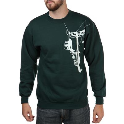 Casual Industrees Chairlift Crew Neck Fleece