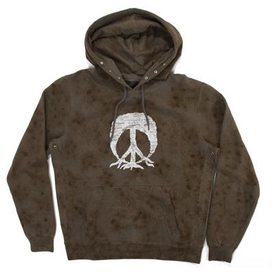 Gnarly Tie Dye Camo Hooded Sweatshirt