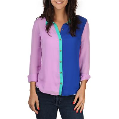 Volcom Not So Classic L/S Button-Down Top - Women's