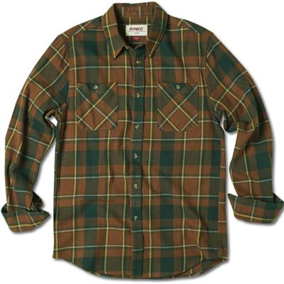 Altamont Strake Long-Sleeve Button-Down Flannel