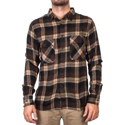 Brixton Archie Long-Sleeve Button-Down Flannel