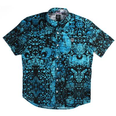 Volcom Baltikyfreaky Short-Sleeve Button-Down Shirt