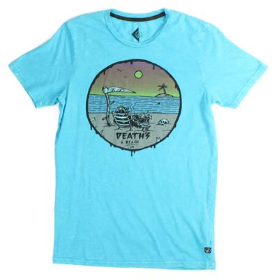 Volcom Deaths A Beach T-Shirt