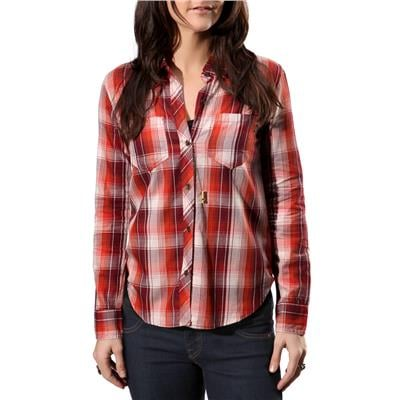 Vans Saddle Rock LS Woven Button-Down Top - Women's