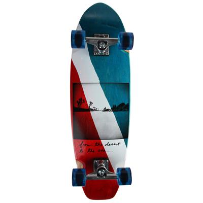 Ruby Republic Small Longboard Complete