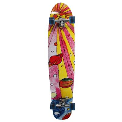 Ruby Republic Large Longboard Complete