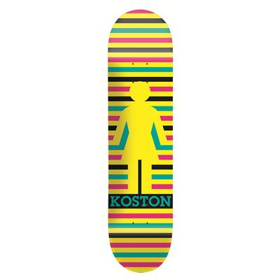 Girl Koston Geo Skateboard Deck
