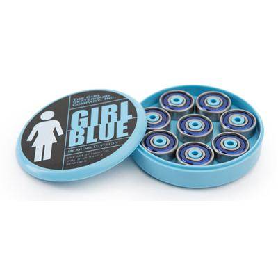Girl Blue Abec 3 Skateboard Bearings