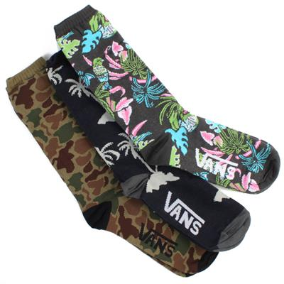 Vans Willits Crew Socks - 3 Pair Pack