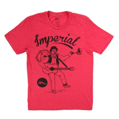 Imperial Motion One Man Band Vintage Heather T-Shirt