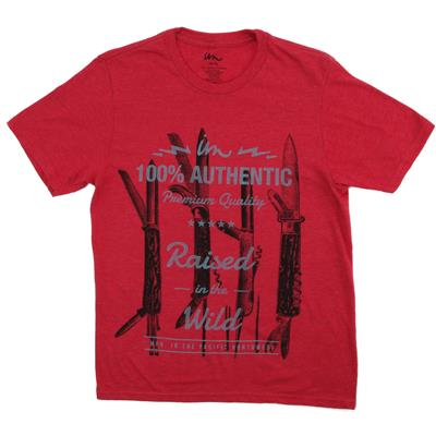 Imperial Motion Pocket Knife Vintage Heather T-Shirt