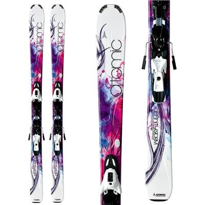 Atomic Affinity Storm Skis + XTO 10 Demo Bindings - Used - Women's 2012