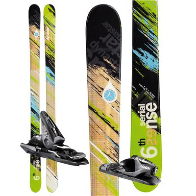 Dynastar 6th Sense Serial Skis + NX 10 Demo Bindings - Used 2012