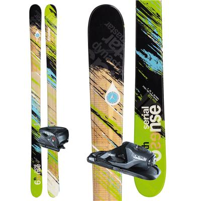 Dynastar 6th Sense Serial Skis + Nova 7 Demo Bindings - Used 2012
