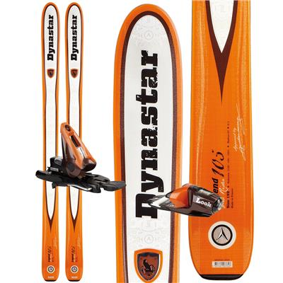 Dynastar Legend 105 Skis + NX 12 Demo Bindings - Used 2012