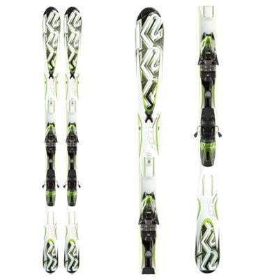 K2 A.M.P. Photon Skis + Marker M3 10.0 Demo Bindings - Used 2012