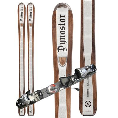 Dynastar Legend Sultan 85 Skis + Marker Speedpoint 9.0 Demo Bindings - Used 2011