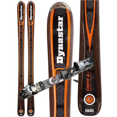 Dynastar Legend 85 Skis + Marker Speedpoint 9.0 Demo Bindings - Used 2012