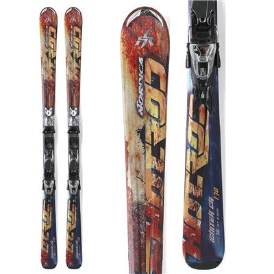 Nordica Hot Rod Igniter CA Skis + Marker N Sport 10 Demo Bindings - Used 2012