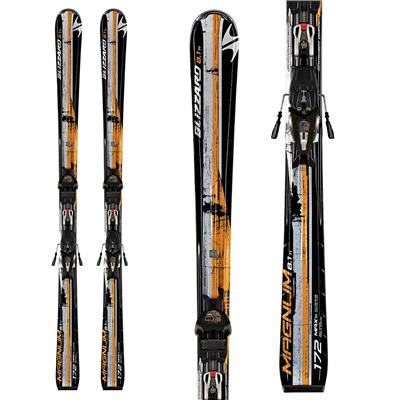 Blizzard Magnum 8.1 IQ Max Skis + IQ Max 12 Demo Bindings - Used 2011