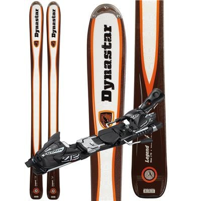Dynastar Legend 94 Skis + Salomon Z12 Demo Bindings - Used 2012