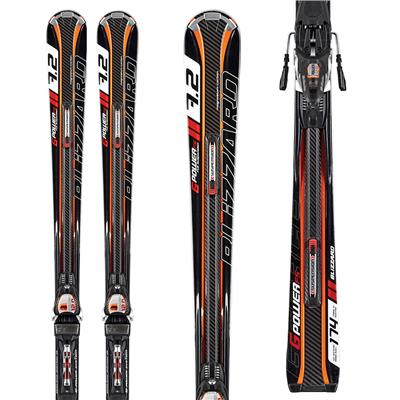 Blizzard G-Power FS Skis + IQ Power 12 Demo Bindings - Used 2012