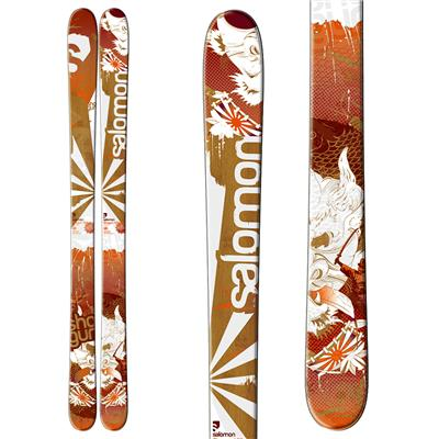 Salomon Shogun Skis + Z10 Demo Bindings - Used 2012