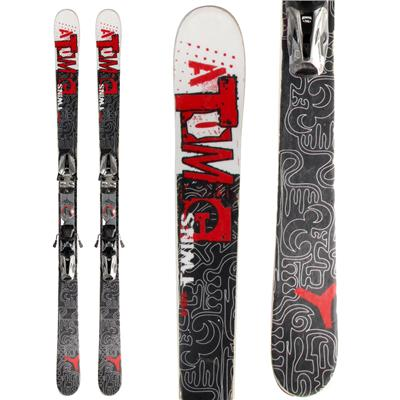 Atomic Twins Skis + Marker Speedpoint M9.0 Demo Bindings - Used 2011