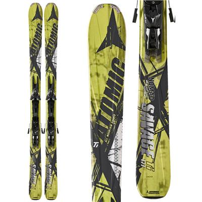 Atomic Savage Ti Skis + XTO 12 Demo Bindings - Used 2012