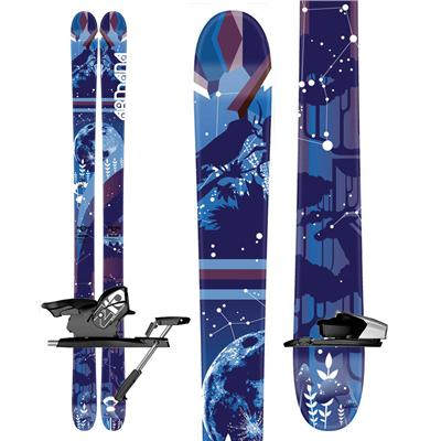 Armada Cantika Skis + Salomon Z10 Demo Bindings - Used - Women's 2010