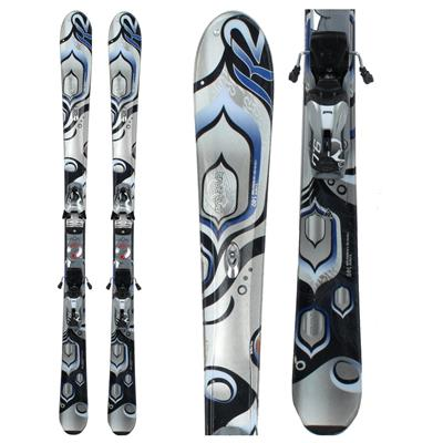 K2 True Luv Skis + Marker Speedpoint Demo M9.0 - Used - Women's 2010