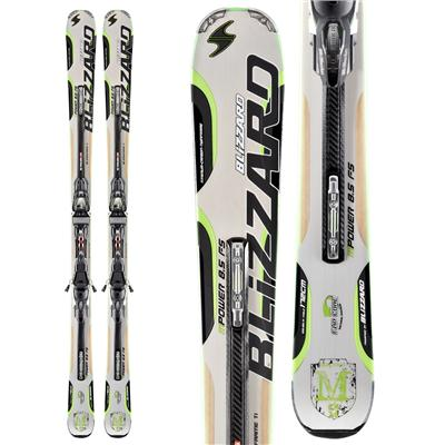 Blizzard M-Power FS Skis + IQ Power 12 Demo Bindings - Used 2012